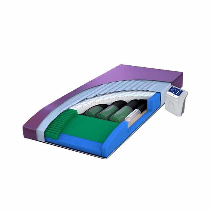 Span America pressureguard custom care convertible low-air-loss mattress