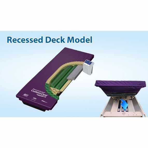 Span America pressureguard low-air-loss mattress