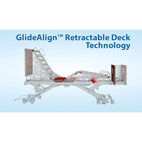 Encore bed with GlideAlign retractability