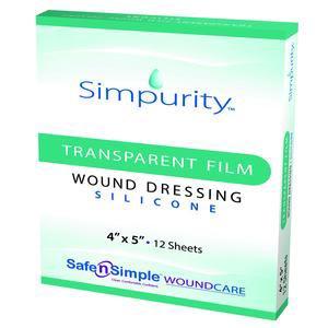 Simpurity Transparent Film Silicone Dressing