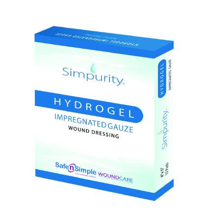 Simpurity Impregnated Hydrogel Gauze Wound Dressing