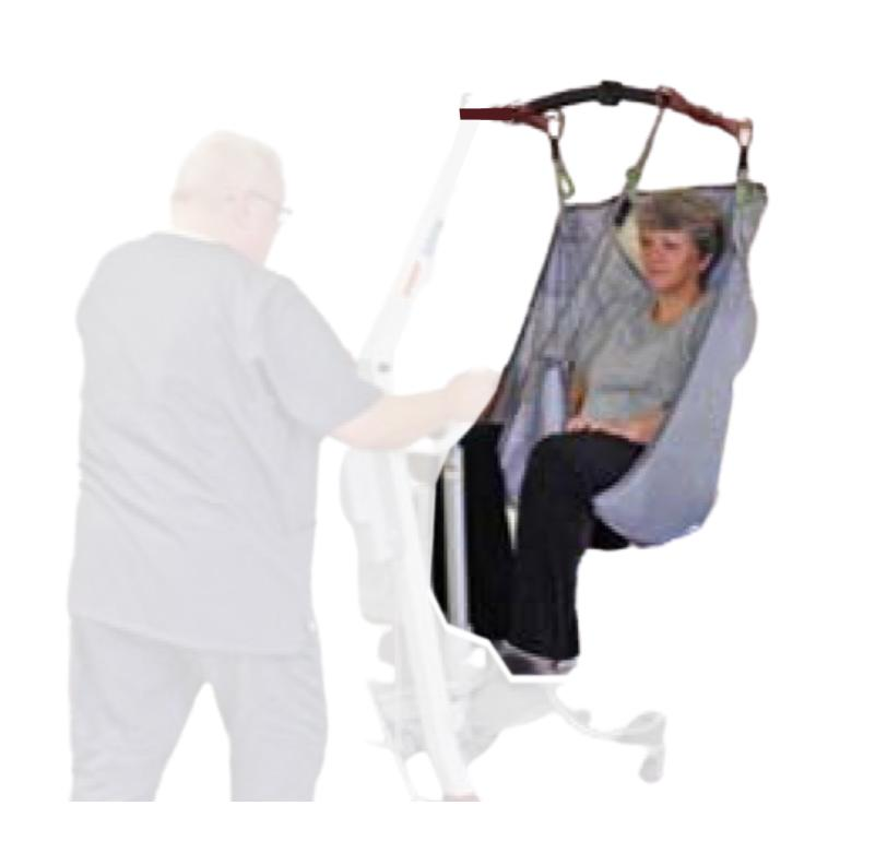Span America universal sling with head support
