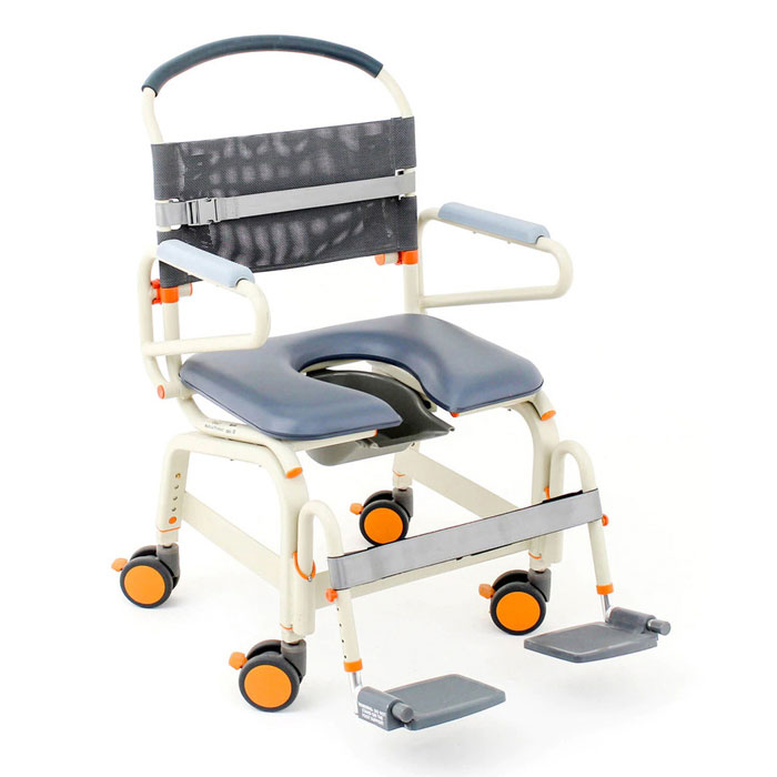 ShowerBuddy roll-inbuddy lite bariatric shower commode chair