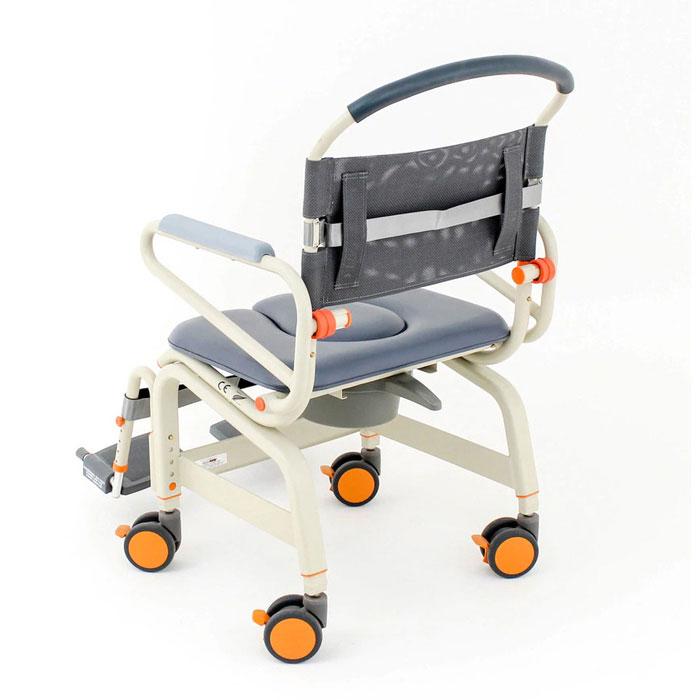 Showerbuddy Roll-Inbuddy Lite Bariatric Shower Commode Chair | Shower Buddy Roll InBuddy