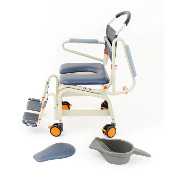 Showerbuddy Roll-Inbuddy Lite Bariatric Shower Commode Chair | Showerbuddy (Roll-Inbuddy)