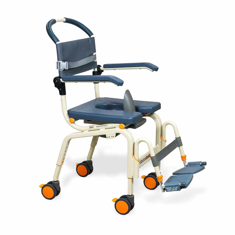 ShowerBuddy roll-inbuddy lite shower commode chair