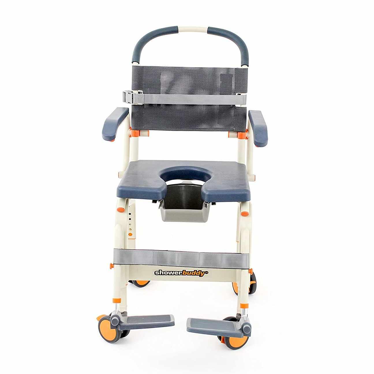 ShowerBuddy Shower Commode Chair | Showerbuddy Roll-Inbuddy Lite