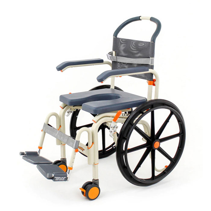 ShowerBuddy roll-inbuddy solo shower commode chair