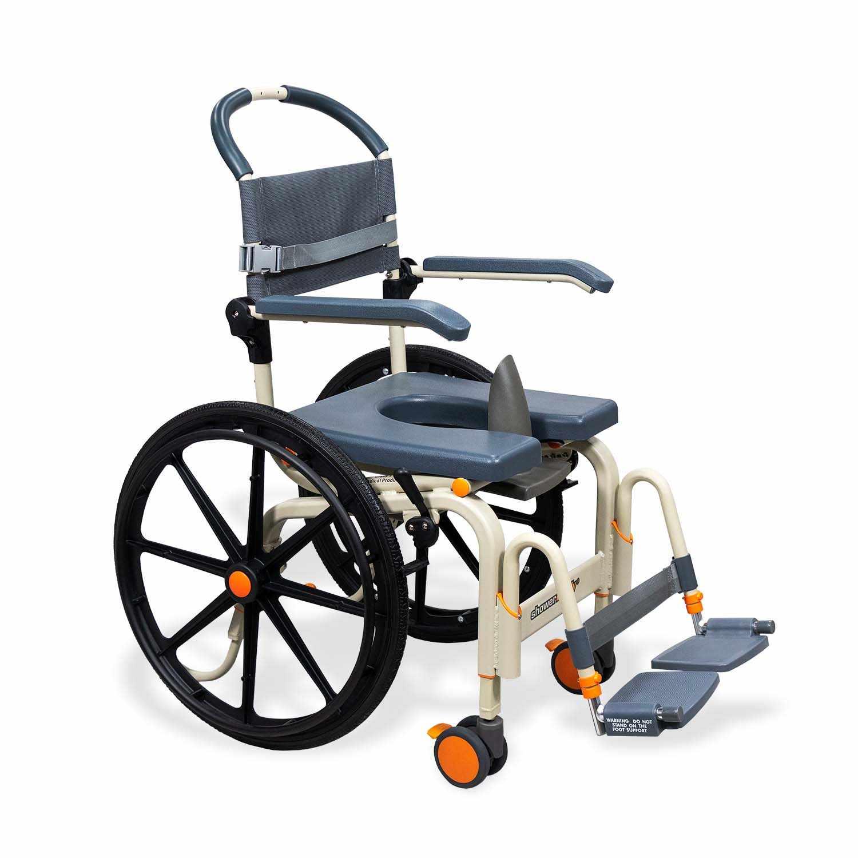 ShowerBuddy roll-inbuddy solo shower commode chair