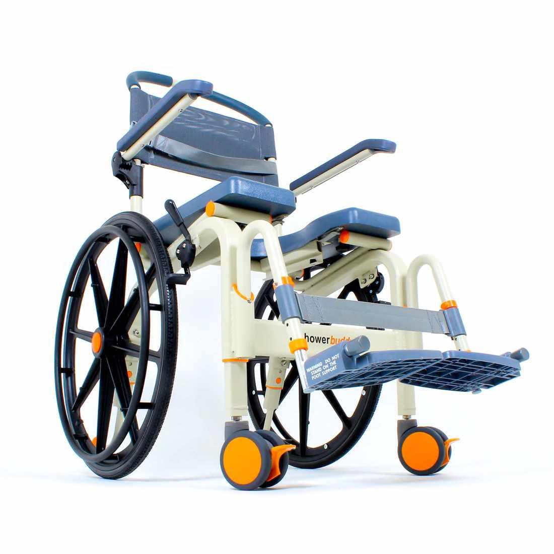 ShowerBuddy roll-inbuddy solo chair back view