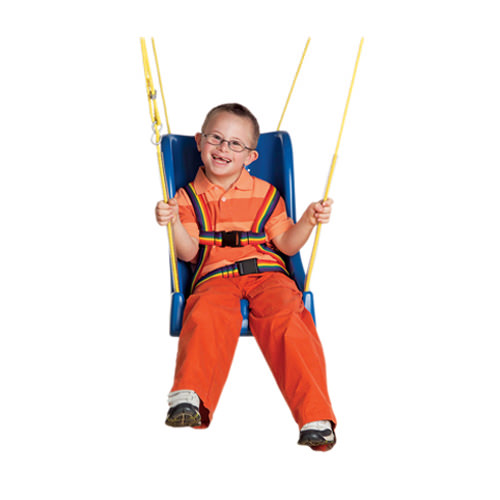 Skillbuilders Full Support Swing Seat With Rope   Medicaleshop