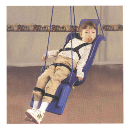 Full Support Swing Seat With Rope   Skillbuilders