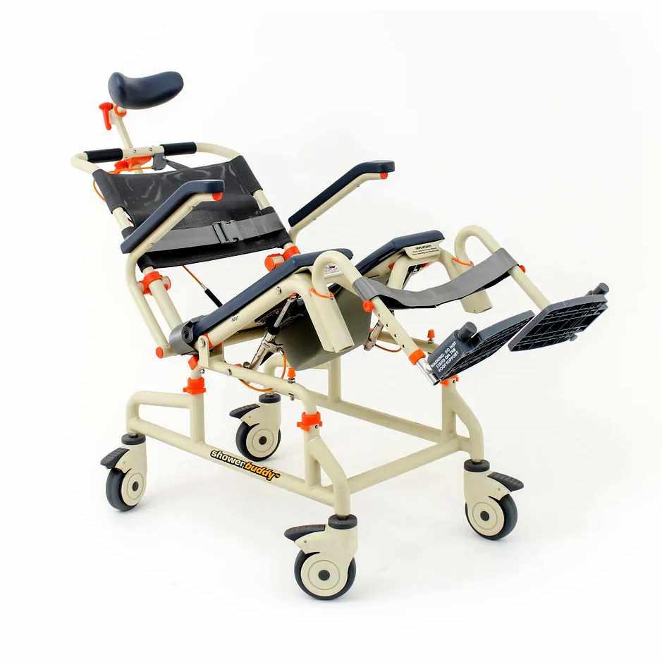ShowerBuddy roll-inbuddy shower chair with tilt