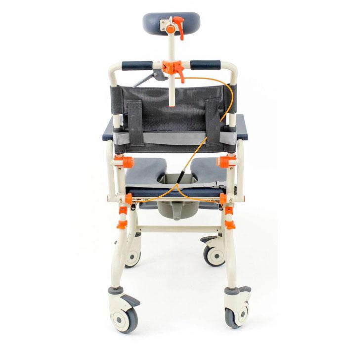 Roll-inbuddy shower chair with tilt