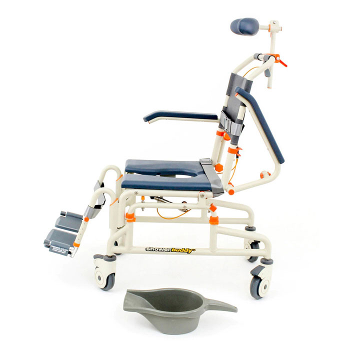 Showerbuddy Roll-Inbuddy Shower Chair With Tilt | Medicaleshop