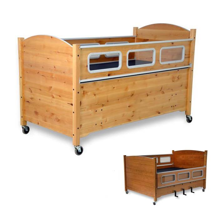 SleepSafe2 manual height adjustable medium bed