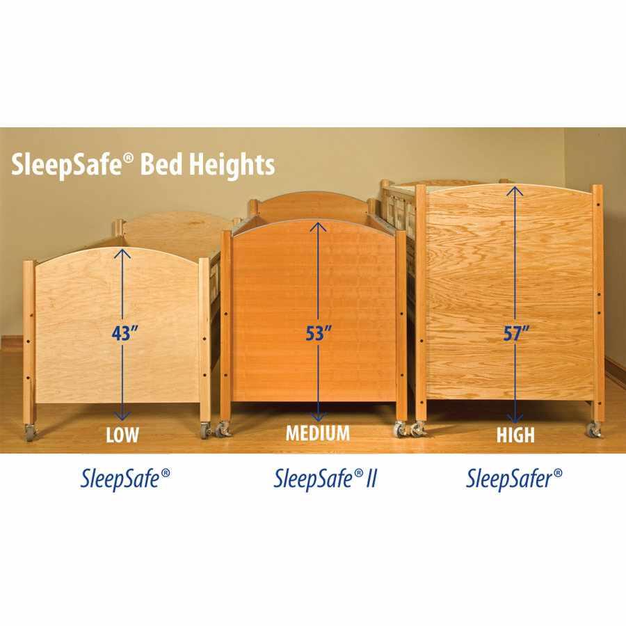 SleepSafer hi-lo tall bed