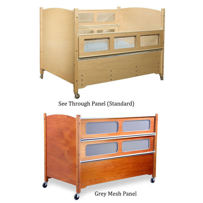 SleepSafer tall bed with dual view