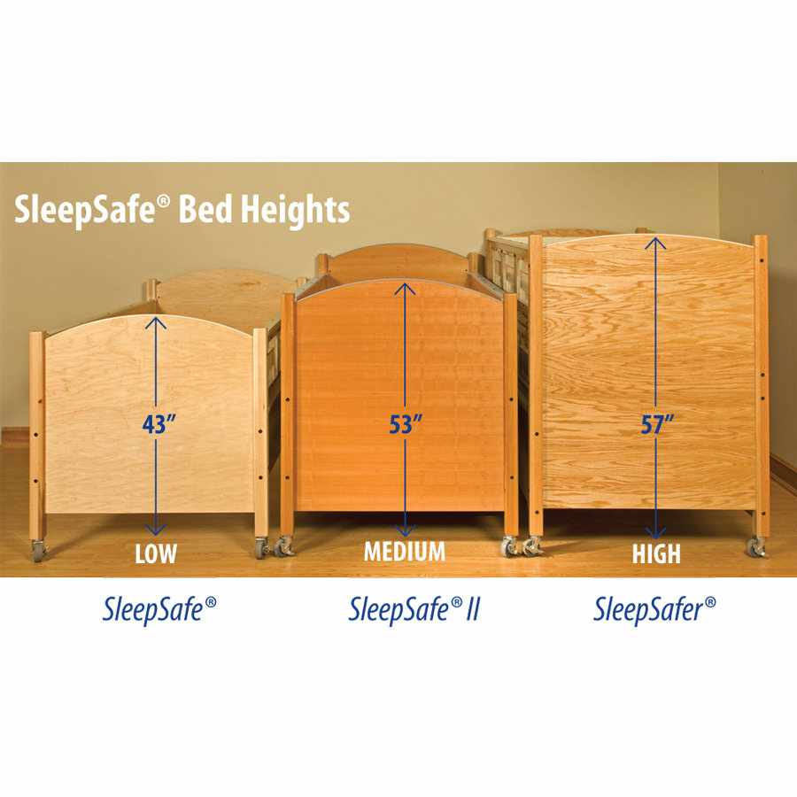 SleepSafer hi-lo bed with dual view