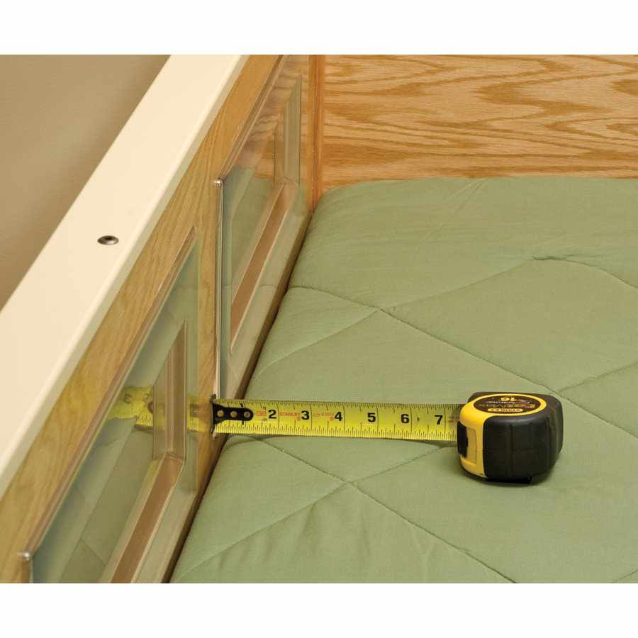 SleepSafer articulating with dual view tall bed