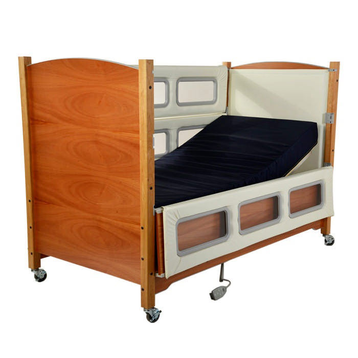 SleepSafer tall bed electric plus articulating with dual view