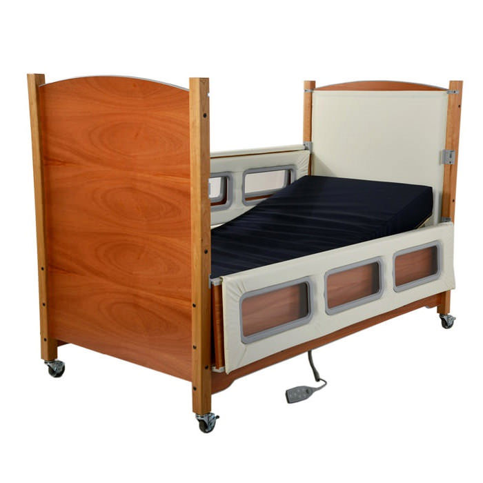 SleepSafer tall electric plus articulating with dual view bed