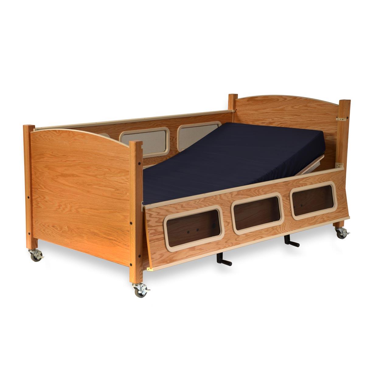 SleepSafe low bed - hi-lo