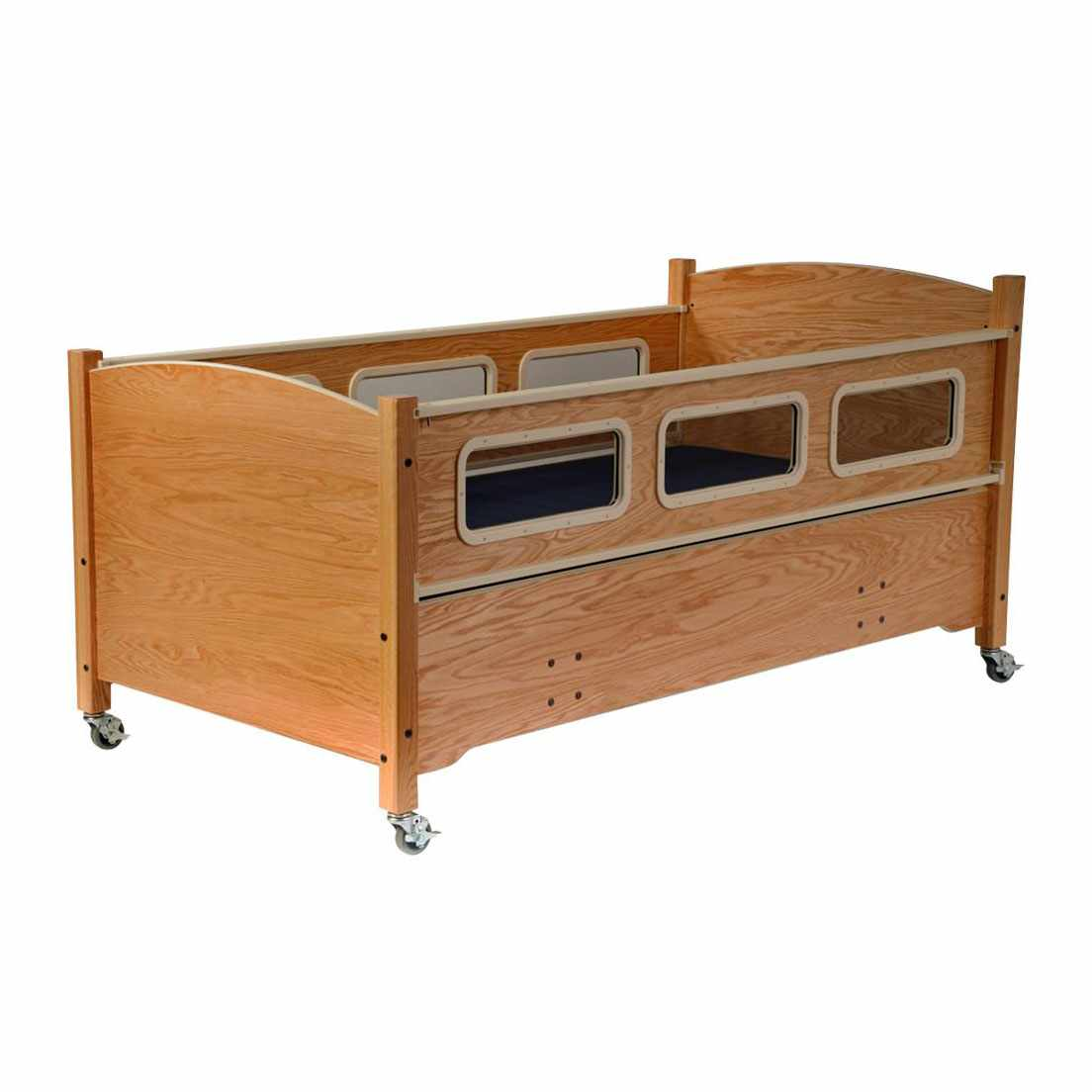 SleepSafe low bed with electric plus articulating