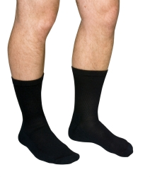 Scott Specialties Diabetic Compression Socks, Crew, Closed Toe