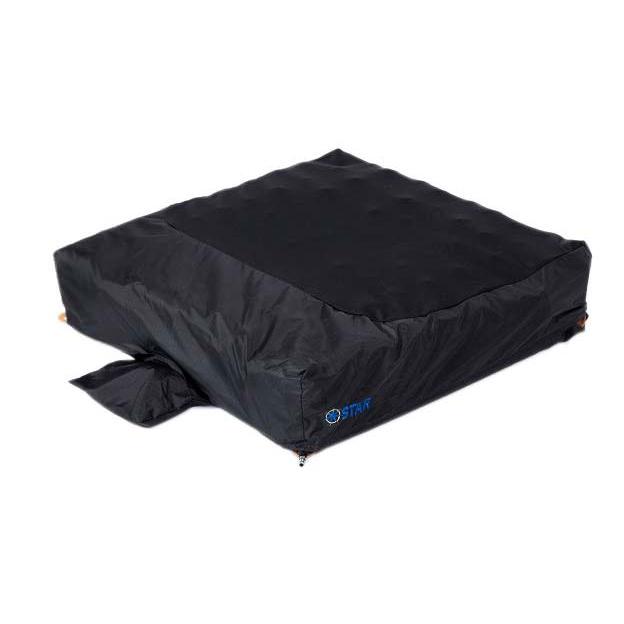"StarLock 5"" wheelchair cushion with cover"