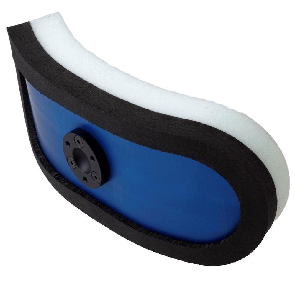 Apex headrest pads - Dual layer foam
