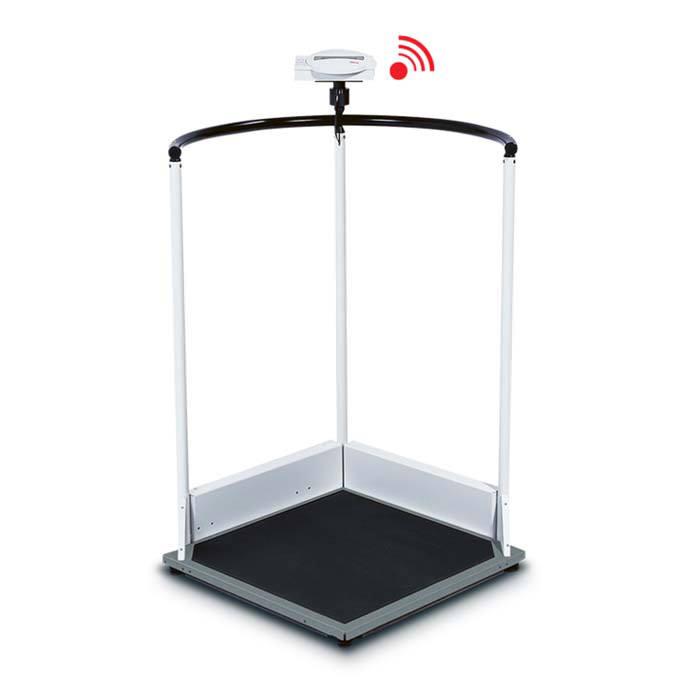 Seca 644 Multifunctional Handrail Scales