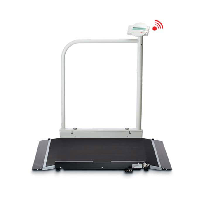 Seca 676 Wheelchair Scale With Foldable Handrail