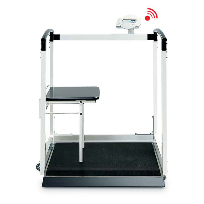 Seca 684 Multifunction Wheelchair/Handrail Scale With Seat