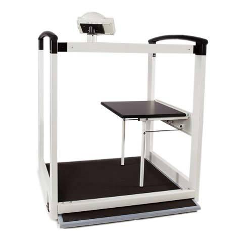 Seca 684 Multifunction Wheelchair/Handrail Scale | Medicaleshop