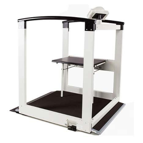 Seca 684 Wheelchair/Handrail Scale | Medicaleshop