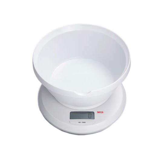 Seca 852 Digital Diaper/Portion And Diet Scale With Bowl