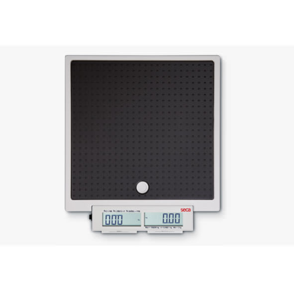 Seca 874 Flat Scale For Mobile Use With Push Buttons And Double Display