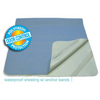 Secure Personal Care TotalDry Reusable Waterproof Sheeting 39 X 75 Inch