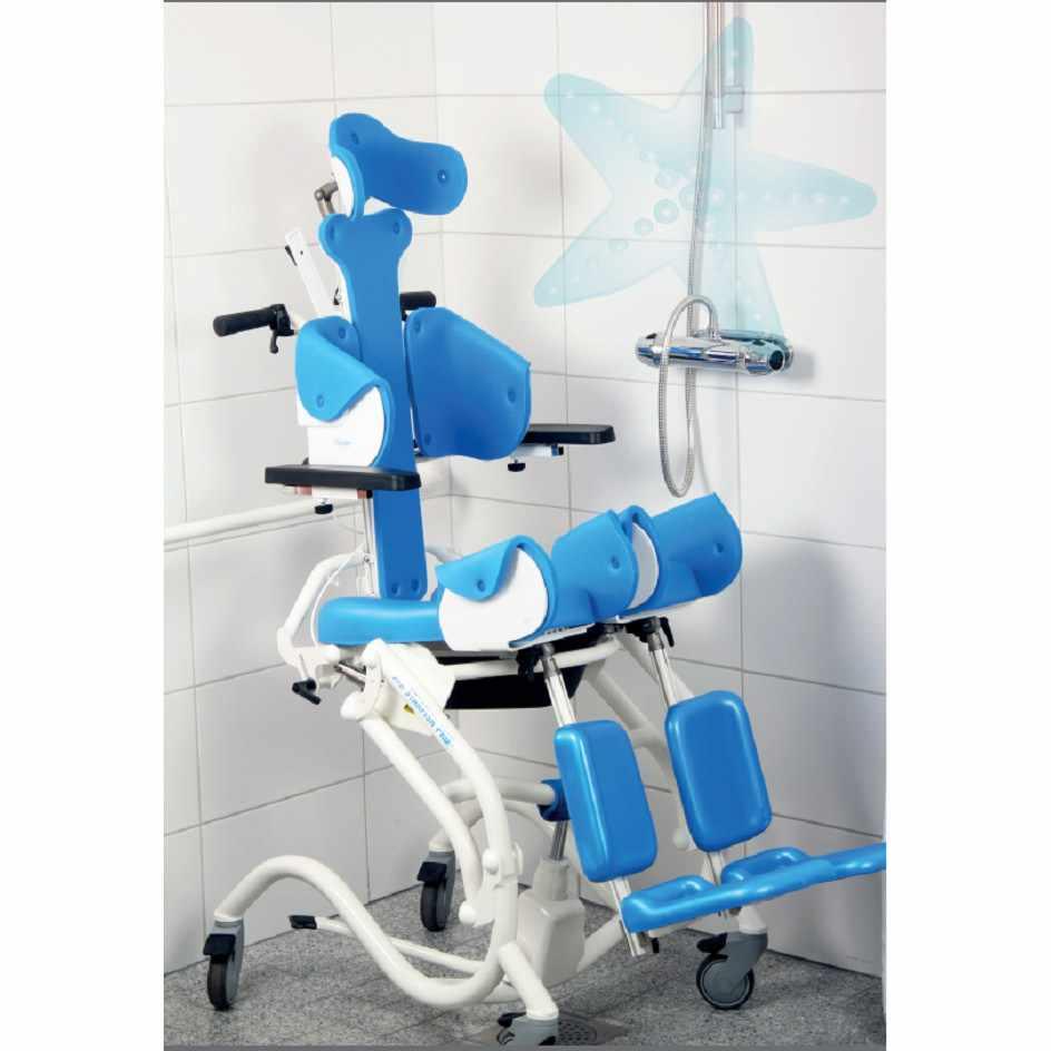 Starfish Pro hydraulic shower commode chair