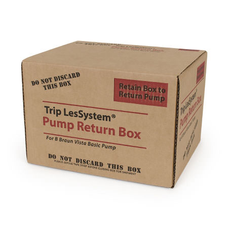 Sharps Compliance Pump Return Box