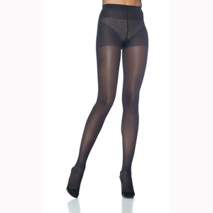 Sigvaris Sheer Fashion Pantyhose, 15-20 mmHg, Size E, Black
