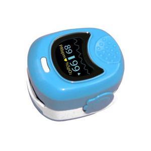 Simpro Pediatric Fingertip Pulse Oximeter Blue