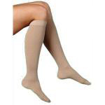 Sigvaris Cotton Series, Calf, 20-30, Medium, Short, Women's Closed Toe