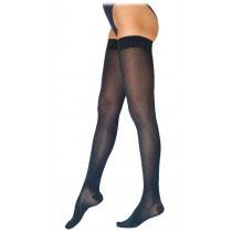 Sigvaris Cotton Comfort Women's Thigh-High Compression Stockings, Medium Short, 30-40 mmHg