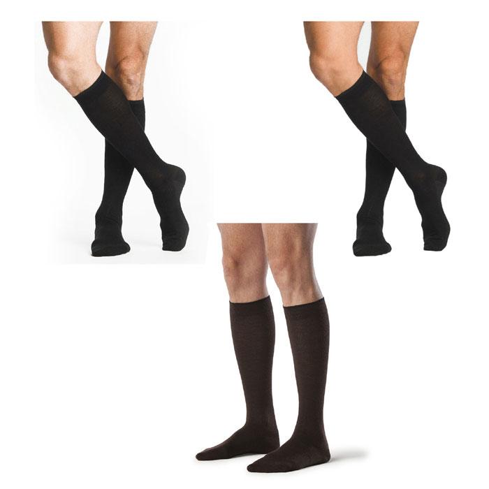 Sigvaris Zurich All Season Wool Calf High Socks 20-30 mmHg, X-Large-Short