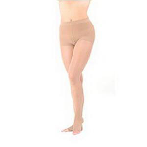Sigvaris Natural Rubber Compression Pantyhose Small Full Short, 30-40 mmHg