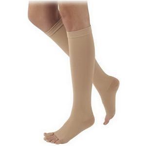 Sigvaris Natural Rubber Knee High Socks, M4 Size, 40-50 mmHg