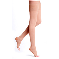 Sigvaris Natural Rubber Thigh High Stockings with Grip-top M3 Size, 40-50 mmHg