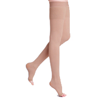 Sigvaris Natural Rubber Thigh High Stockings L4 Size, 40-50 mmHg
